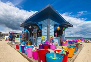 Weymouth In Summer - Beach Kiosk - July 2016 - Picture: Graham Hunt Photography