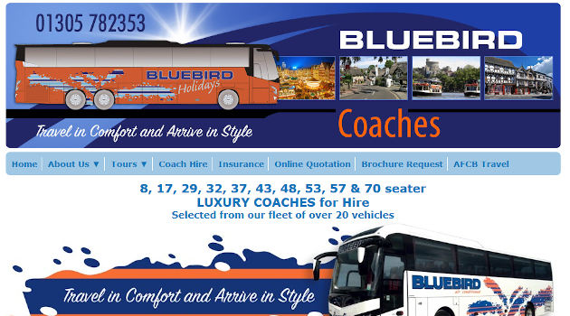 Bluebird Coaches